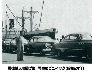 ヤナセの戦後輸入第1号車(1949年)