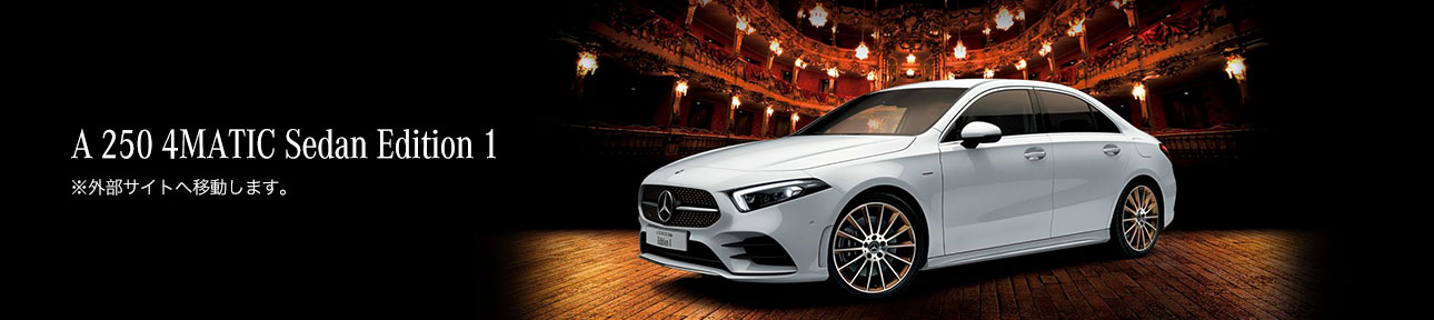 Mercedes-AMG A 250 4MATIC Edition 1
